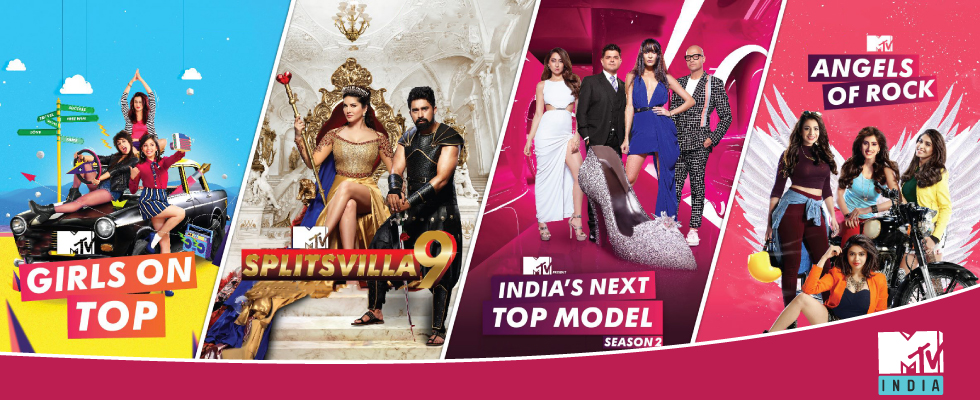 girls on top splitsvilla 9 india's next top moden angels of rock atn mtv india