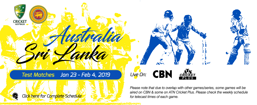 australia vs sri lanka 2019 cbn